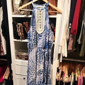 Kensie Blue Maxi Dress
